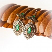 Shambu Earrings  Gold Plated Sterling Silver