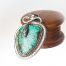 Pendant Silver and Turquoise